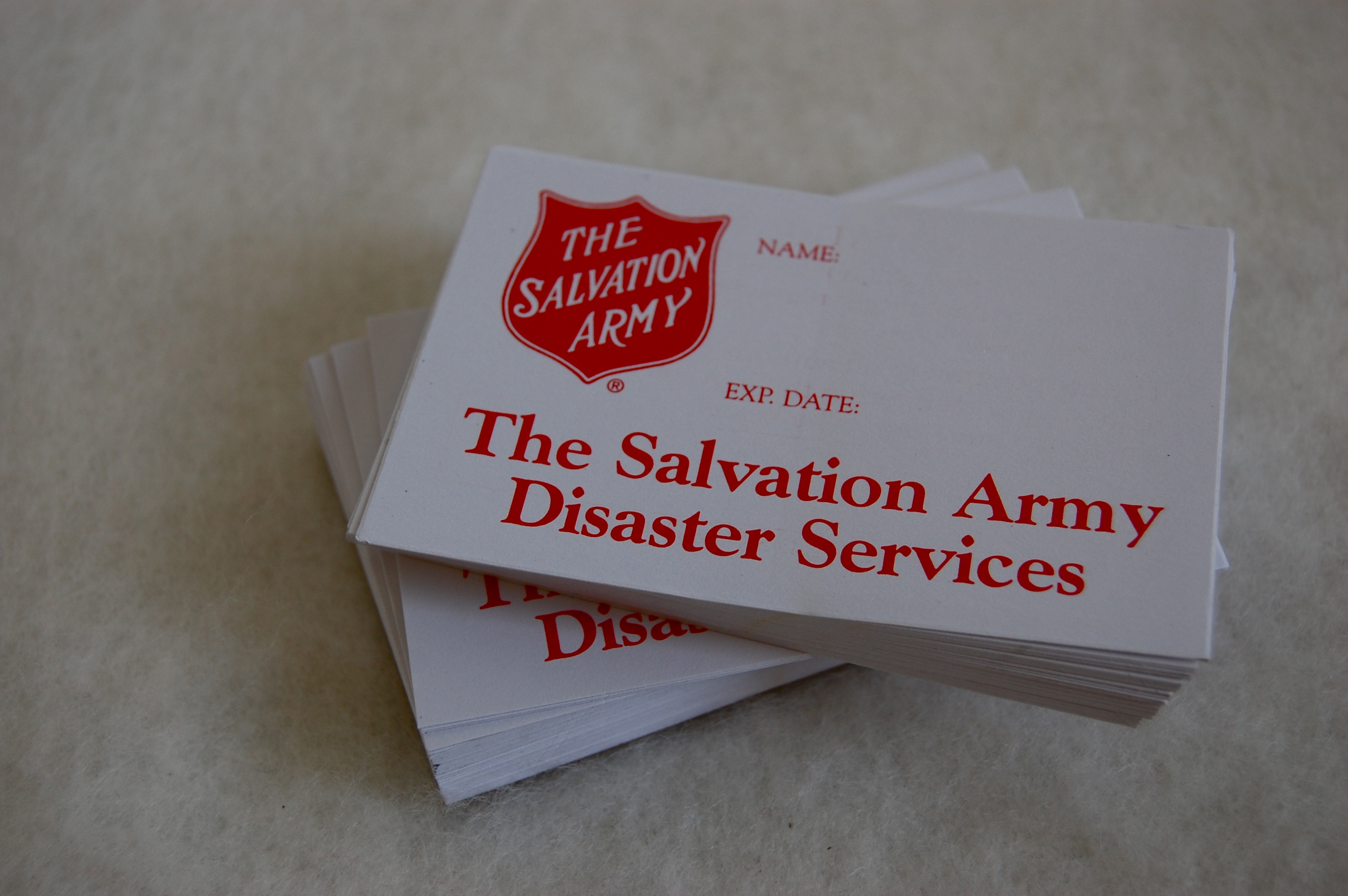 Volunteer ID Cards | The Salvation Army Emergency Disaster ...
