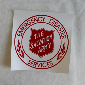 EDS Decal 7″ | The Salvation Army Emergency Disaster ...