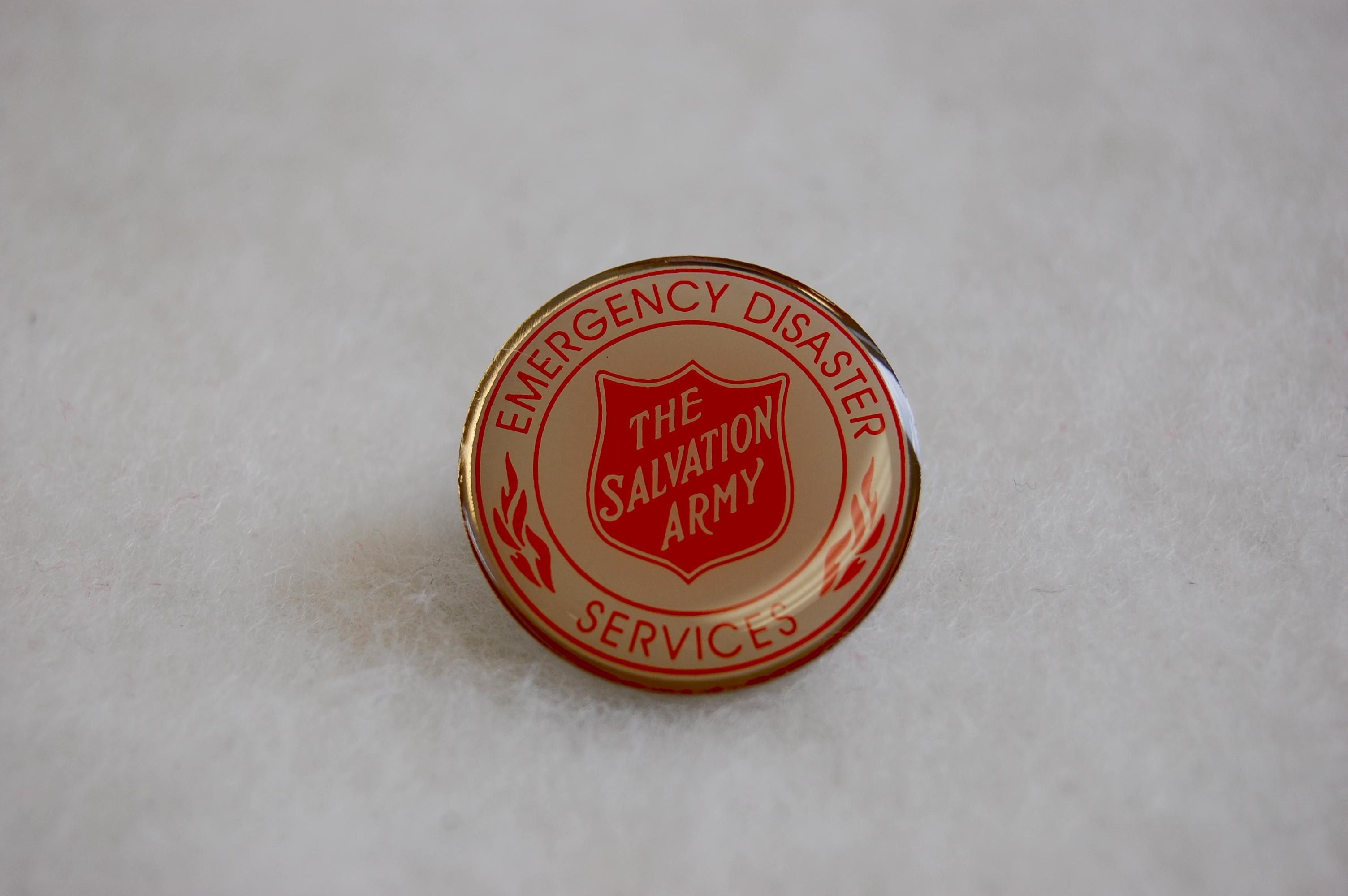 EDS Lapel Pin : Epoxy Enamel | The Salvation Army ...