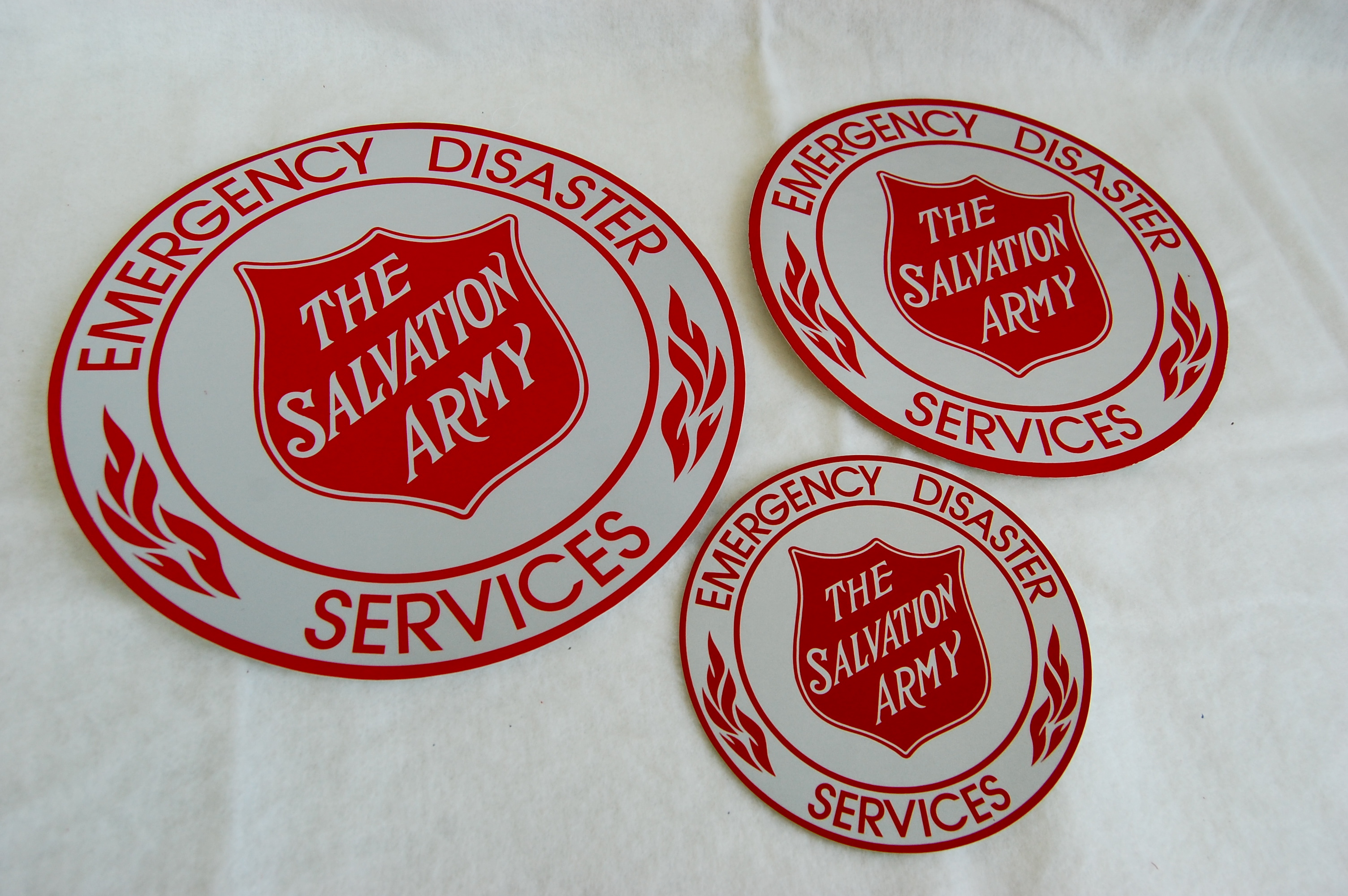 EDS Decal: 3″, 4″, 8″, 12″, 14″, & 24″ | The Salvation ...
